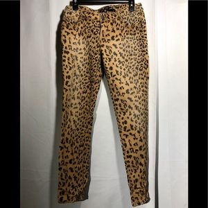 Vanilla star Animal print pants-jeans size -10